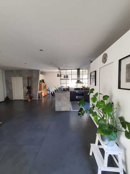 Hinterhof-Loft-Wohnung mit Balkon und Einbauküche in St. Johannis - Krugstraße in Sandberg