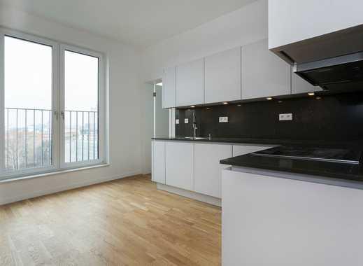 Penthouse Neubau, Wanne-Dusch-Bad, Einbauküche, Terrasse und Fußbodenheizung