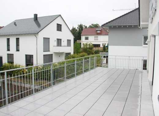 Mayence-Immobilien: Familien mit Vierbeinern willkommen! Topp Maisonette mit großer Terrasse!