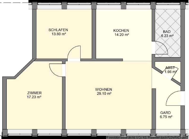 Charmante Wohnung wartet auf Sie in Günzburg