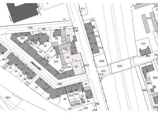 Baugrundstück mit projektiertem 12-Familienhaus