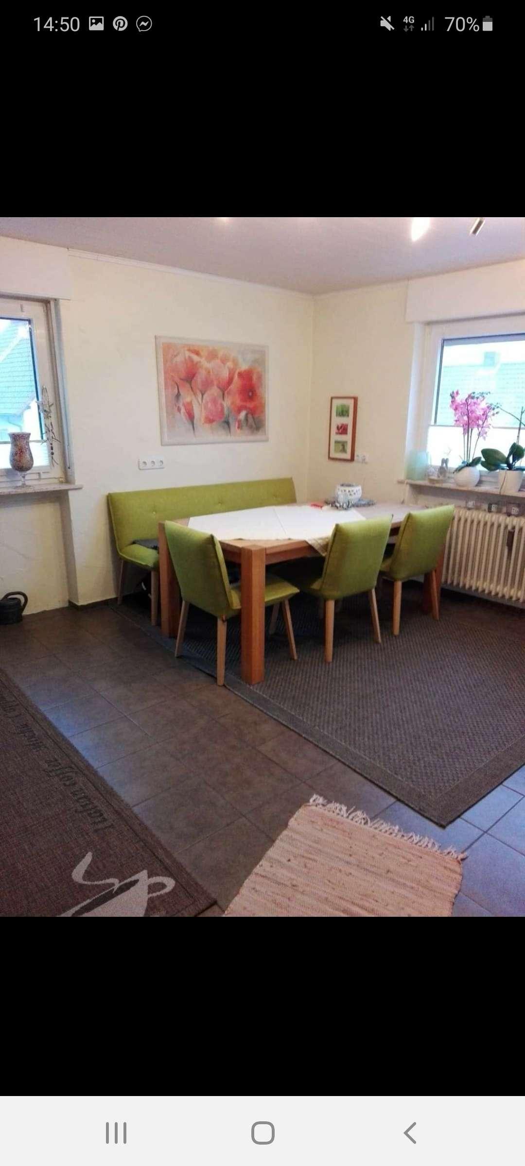 Gepflegte 3-Raum-Wohnung mit Balkon und Einbauküche in Leidersbach in