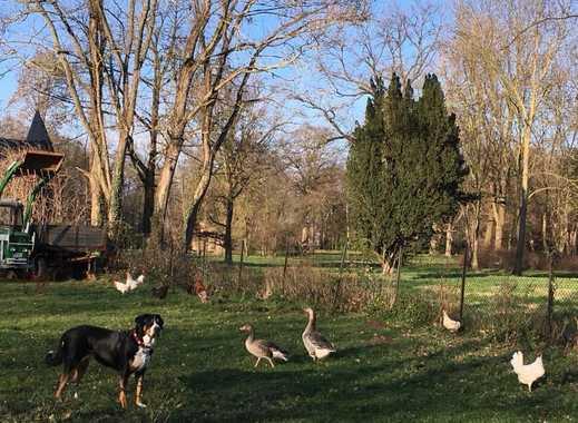 Wohnen wie auf dem Bauernhof; Hunde- und Katzenhaltung erlaubt !