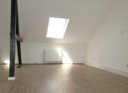 Kleine Wohnung im Dachgeschoss