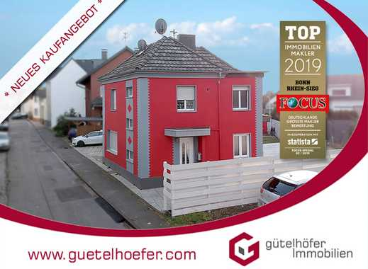 Stilvolles und saniertes Zweifamilienhaus mit Garage und 2 Einbauküchen in Bornheim-Sechtem