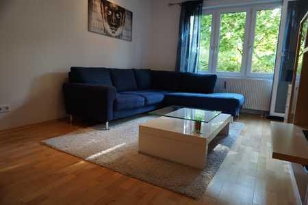 Gepflegte 2-Zimmer-Hochparterre-Wohnung mit Balkon und EBK in Bogenhausen, München in Bogenhausen (München)