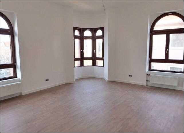LUITPOLDHAUS - HISTORIE - MODERNE Stilvolle 3-Zimmer Altbau-Etagenwohnung + 1 Balkon in Stadtmitte (Aschaffenburg)