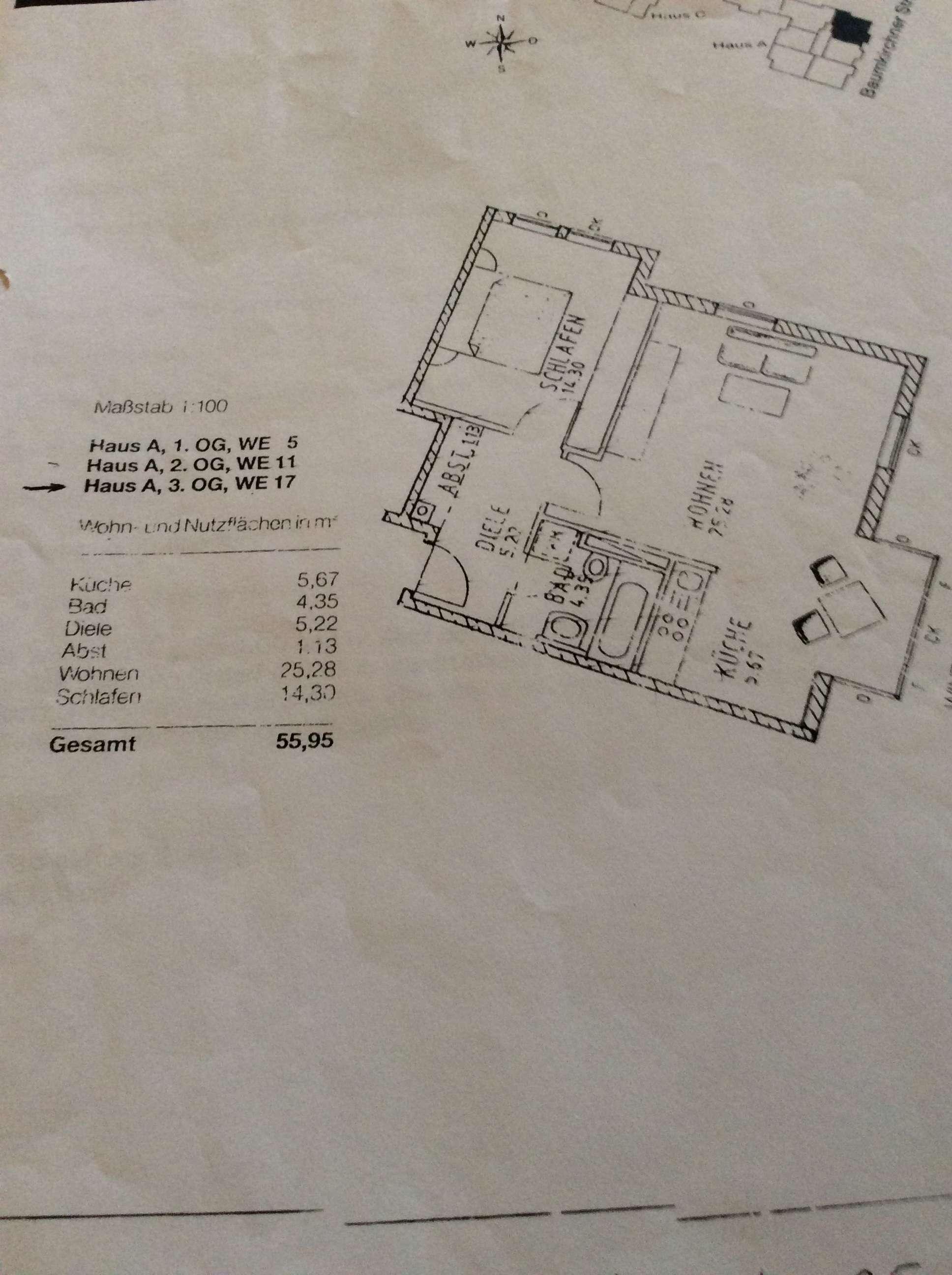 Moderne zwei Zimmer Wohnung mit schönem Erker, Berg am Laim