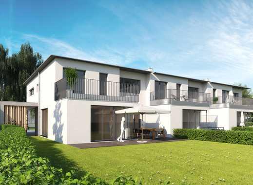 NEUBAU - Exklusives Reiheneckhaus für den gehobenen Anspruch !!  Moderne Architektur in Bestlage !!