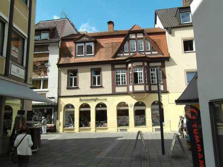 Großzügige Wohnung mit Haus im Haus Ambiente in Bad Kissingen
