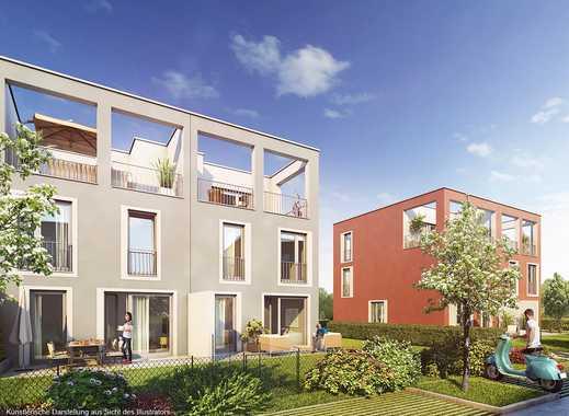 4-Zimmer-Reihenhaus mit hochwertiger Ausstattung im eleganten Bauhaus-Stil