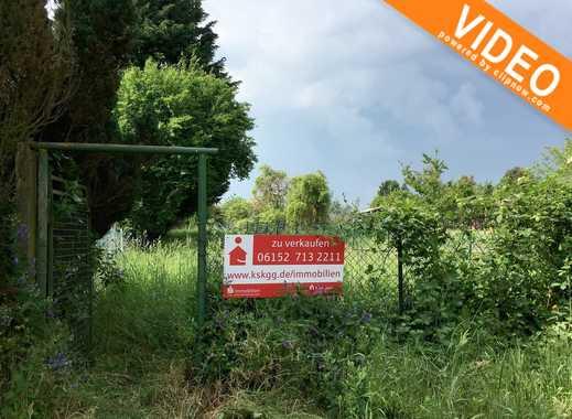 Großes Gartengrundstück in Rüsselsheim-Königstädten !