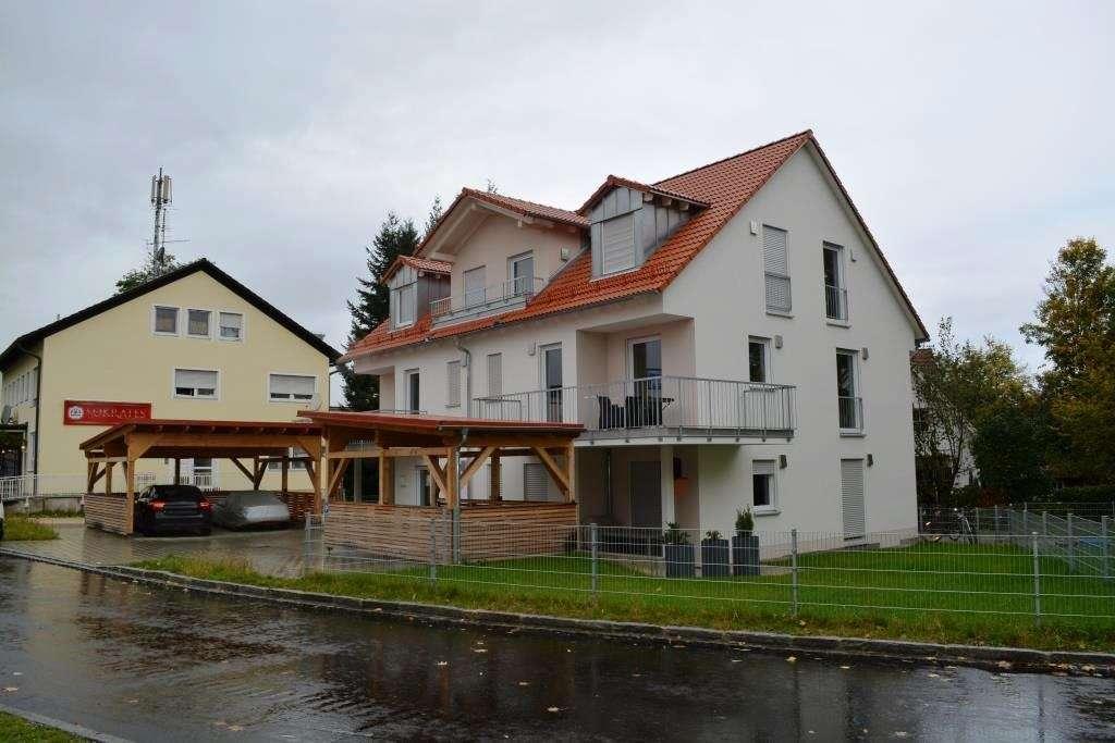 6-ZKB Maisonette-Wohnung mit Einbauküche, Garten, Keller, 2 Terrassen + Loggia in Niederscheyern! in Pfaffenhofen an der Ilm