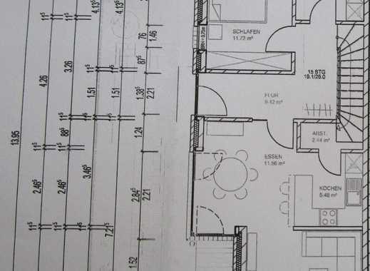Neuwertige 4,5-Zimmer-DHH mit Wohn-Eßzimmer-Küche mit EBK,Gäste-WC, Vollbad im OG,