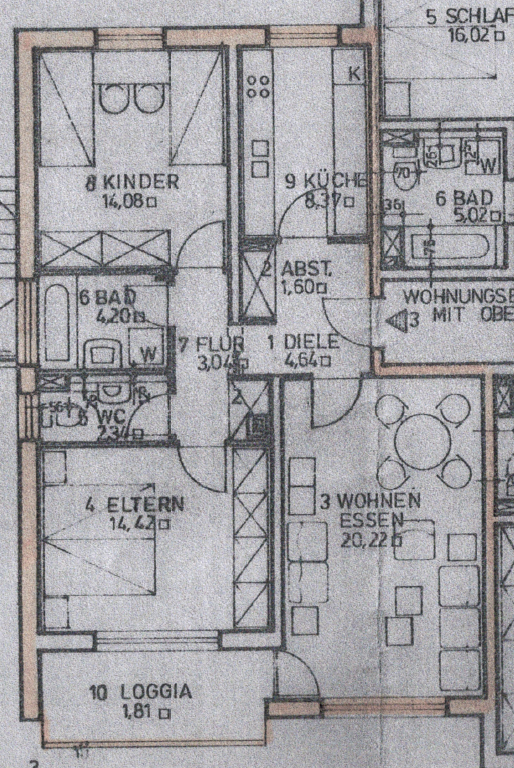 3-Zimmer-Wohnung mit Balkon in Ergolding ab 15.10.2020 zu vermieten in