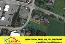 Bild KILIAN IMMOBILIEN!  GEWERBE- UND WOHNBAU-GRUNDSTÜCK MIT CA. 2.210 M² IN BÜCHENBACH!