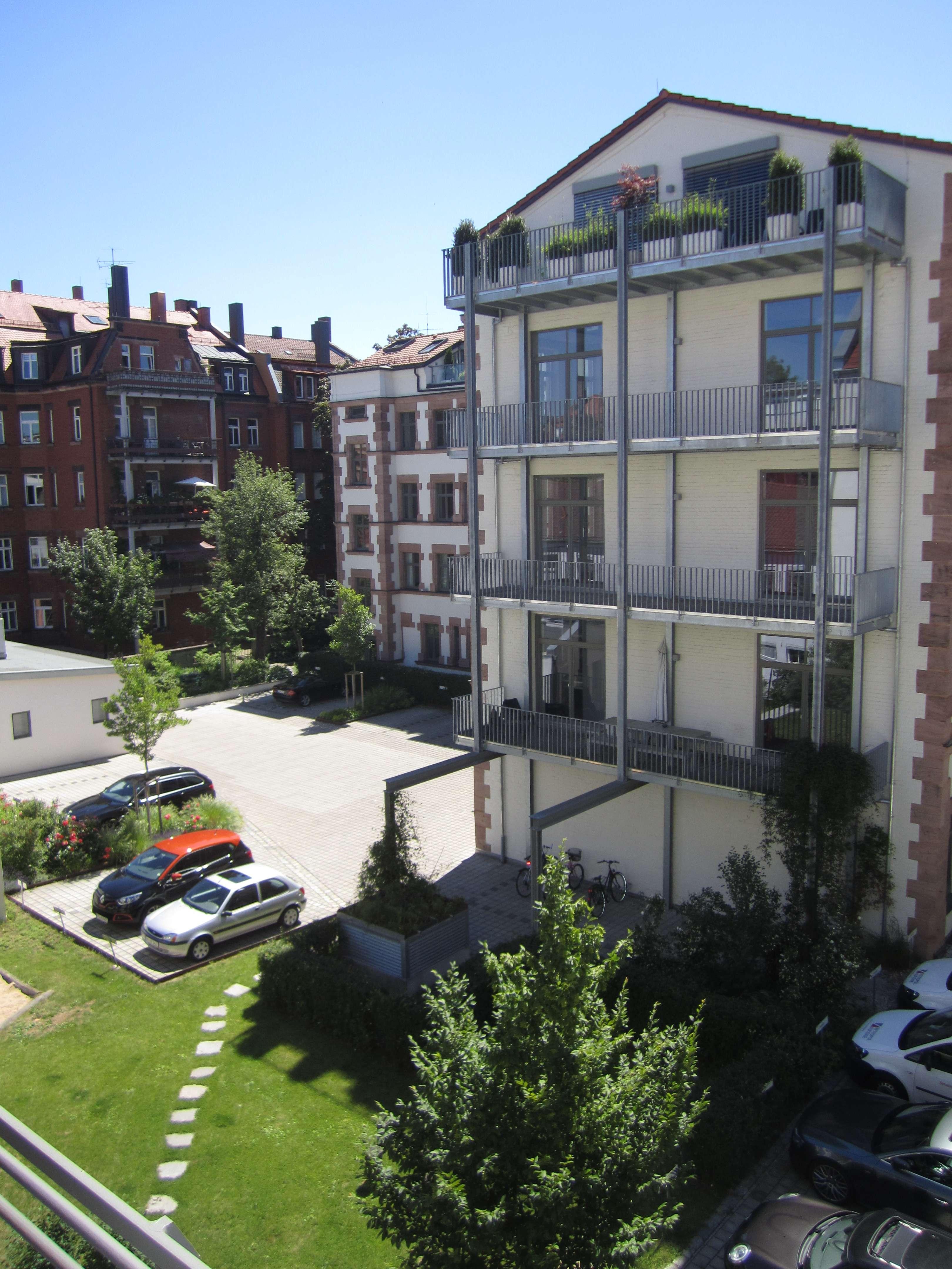 Exklusive 5-Zimmer-Maisonette-Wohnung mit Dachterasse im Herzen von St. Johannis in Bielingplatz (Nürnberg)