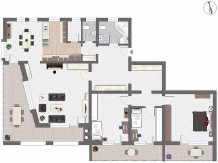 4-Zimmer-Wohnung in Altenstadt in Altenstadt (Weilheim-Schongau)