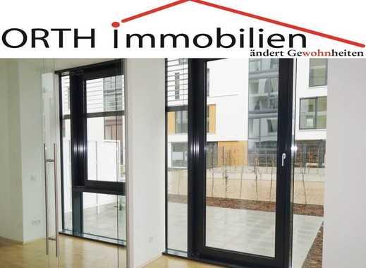 Hochwertige 2 Zimmer Neubau Wohnung mit EBK u. Gartenterrasse