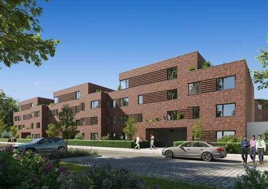 Wohnberechtigungschein erforderlich: Attraktive 3-Zimmerwohnung im Neubaugebiet Steinbruchsfeld