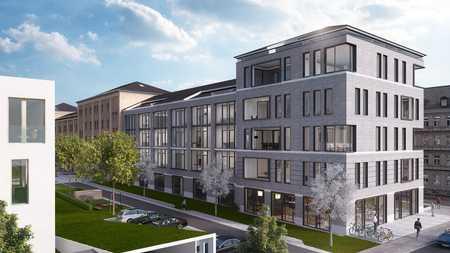 Neubau Bismarck-Viertel: Luxuriöse 2 Zimmer-Wohnung mit Glasfassade in Hochfeld (Augsburg)