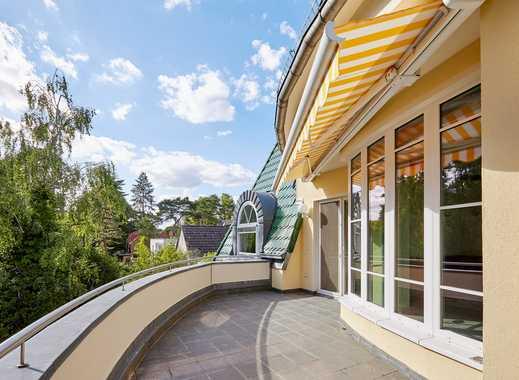 Großes Penthouse mit privatem Swimmingpool und Garten