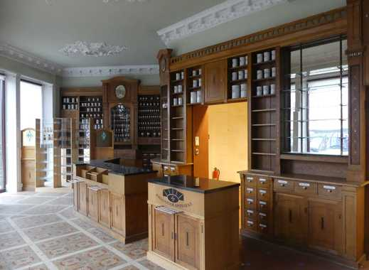 Alte, stilvolle Apotheke zu vermieten, ideal als Café, Bar oder Einzelhandel