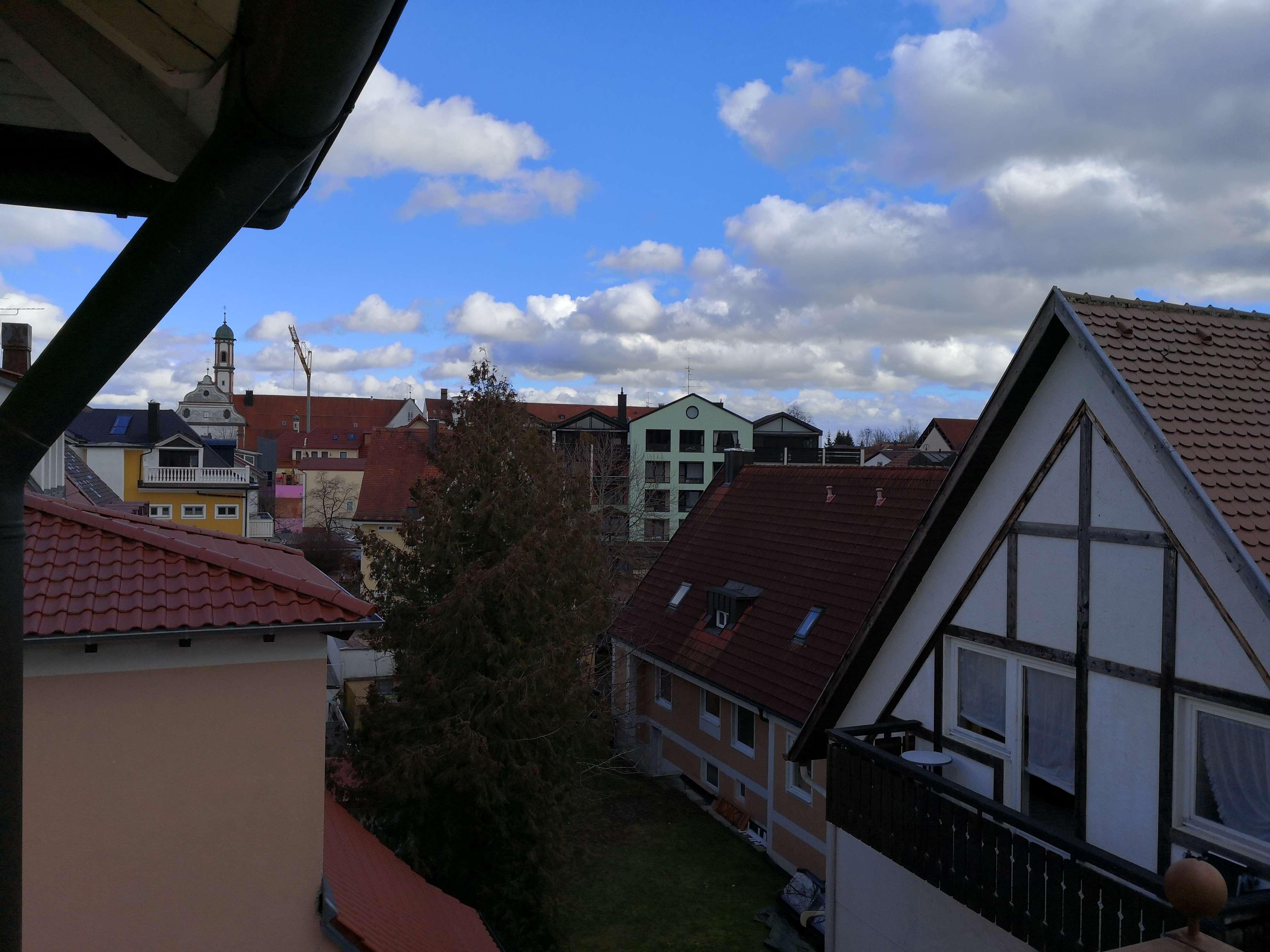 Helle 2 Zimmer Wohnung über den Dächern von Bad Wörishofen in