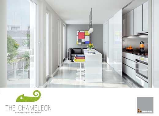 Penthouse-Wohnung in Frankfurt mit Abstellraum und Waschmaschinenanschluss