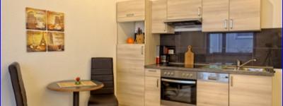 Möbliertes 2 Zimmerapartment im Erdgeschoss, in verkehrsberuhigter Lage direkt am Kurpark