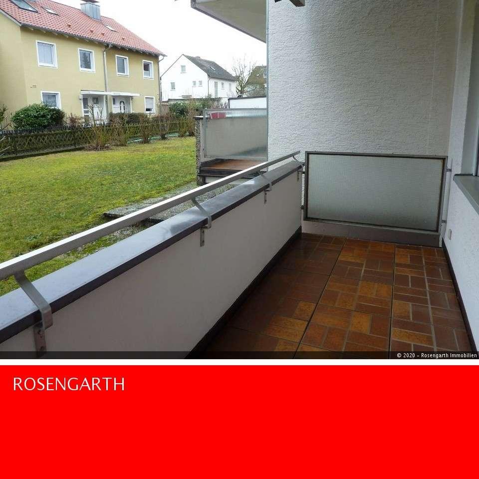 Attraktive 2 Zimmer Wohnung mit Balkon in Gerbrunn