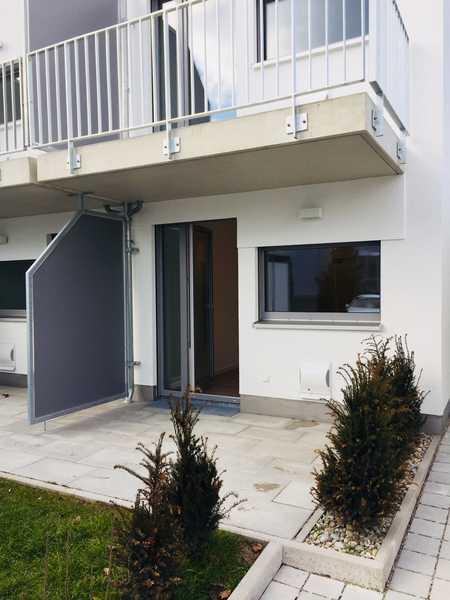 Exklusive 1-Zimmer-Wohnung (Studenten-Apartment) mit Terrasse, voll möbliert in Ingolstadt in Nordost (Ingolstadt)