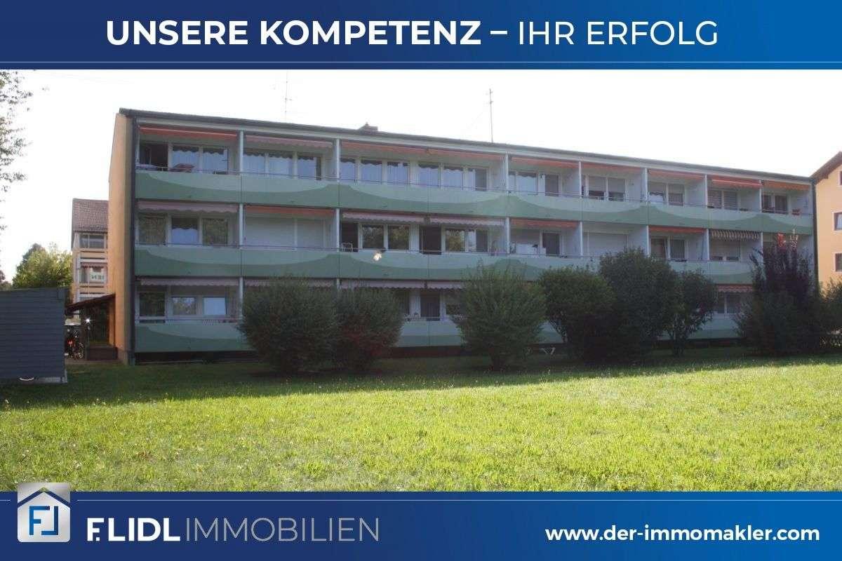 gepflegte 1 Zimmer Mietwohnung 2. Stock  mit Balkon in Bad Füssing