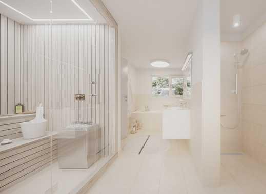 Anspruchsvolles Gartenhofhaus auf 3 Etagen mit Wellnessbad und 2 Terrassen