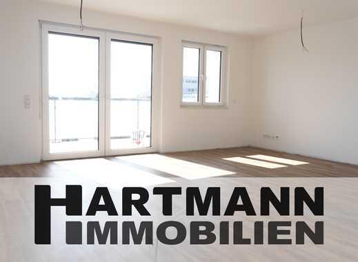 Ohne Schrägen, dafür mit Weitblick und viel Komfort: Neubau 3-Zimmer-Dachgeschosswohnung!