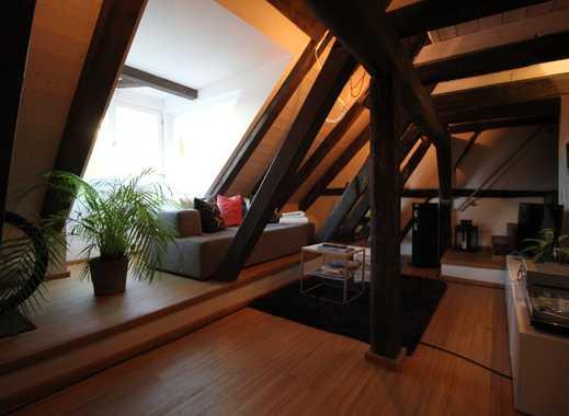 Moderne DG Wohnung im Denkmalhaus mitten in der Altstadt teilmöbliert oder möbliert ab 1.2 o. 1.3.19
