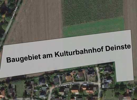 Baugrundstücke im Neubaugebiet - Am Kulturbahnhof - 21717 Deinste