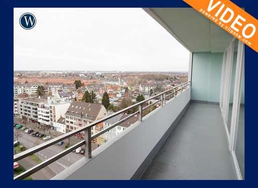 … über den Dächern von Köln - modernisierte 2-Zimmer mit neuem Boden + neues Bad + Balkon + Aufzug