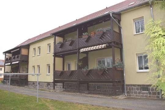 3-Raum Balkonwohnung am Ortsrand von Neukieritzsch