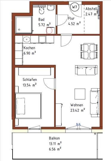 Erstbezug: Tolle 2-Zimmer-Neubau-Wohnung mit Deisterblick in Weetzen