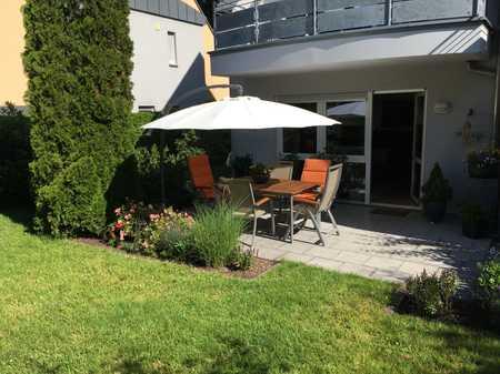Gepflegte 3-Zimmer-Terrassenwohnung und EBK in Behringersdorf direkt am Waldrand in Schwaig bei Nürnberg