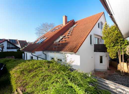 Tobias Grünert Immobilien # Maisonette - Dachgeschosswohnung in ruhiger Essenheimer Lage
