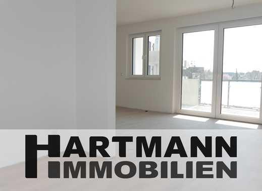 Neubau-Erstbezug: Schwellenlose 3-Zimmer-Komfortwohnung mit Südbalkon!