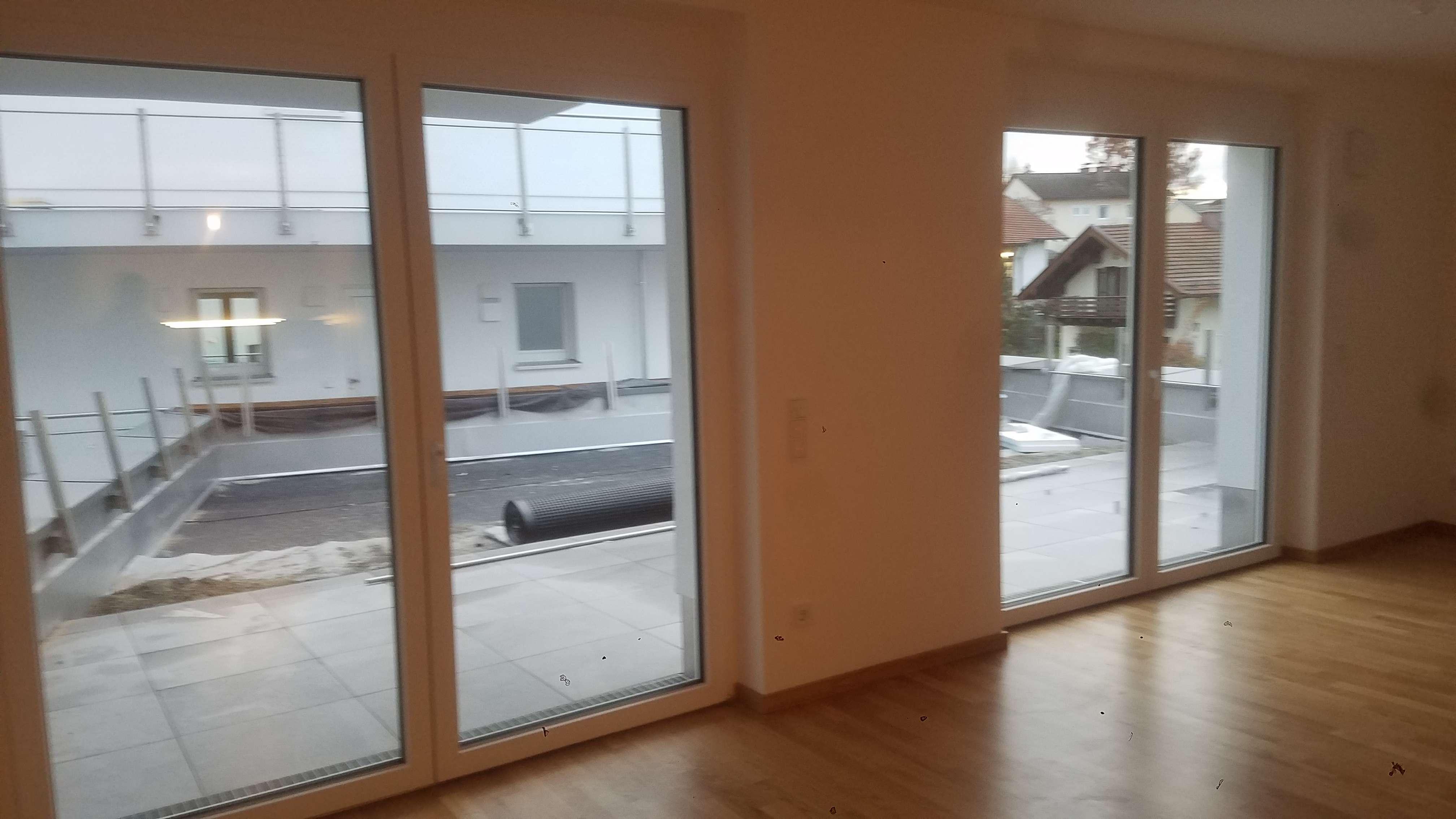 Erstbezug mit EBK und Terasse: stilvolle 3-Zimmer-Wohnung in Traunstein in Traunstein