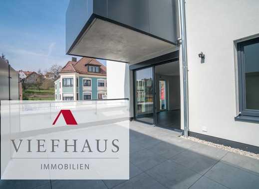 Neubau Erstbezug: Moderne, helle 2,5-Zimmerwohnung im Zentrum Höchbergs