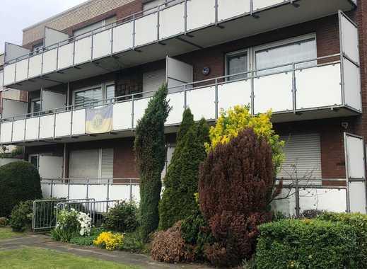 eine schöne Single/Pärchenwohnung im Erdgeschoss mit Balkon