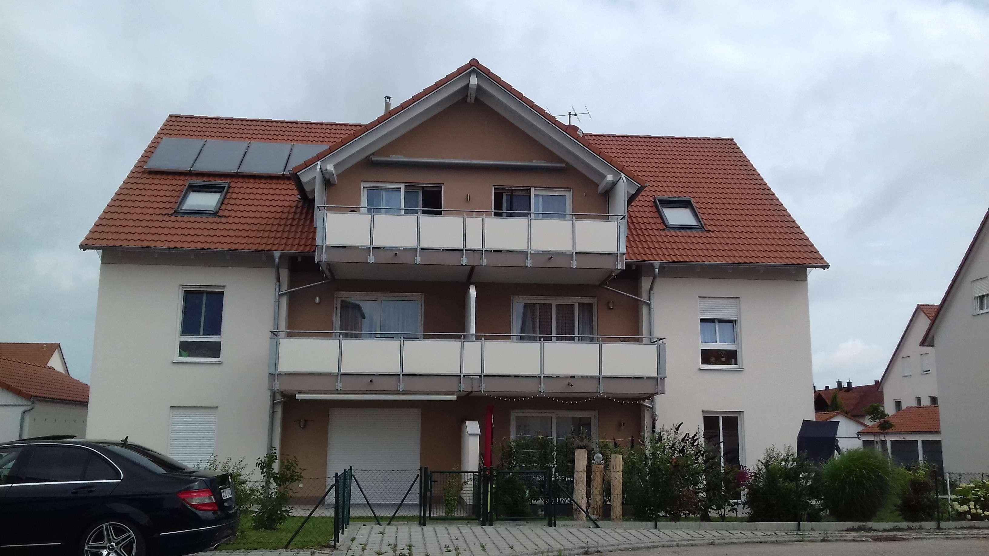 Schöne barrierefreie 3 Zimmer Wohnung in  Langweid am Lech, Augsburg (Kreis)