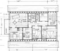 Vollständig renovierte 5-Zimmer-Dachgeschosswohnung mit Balkon