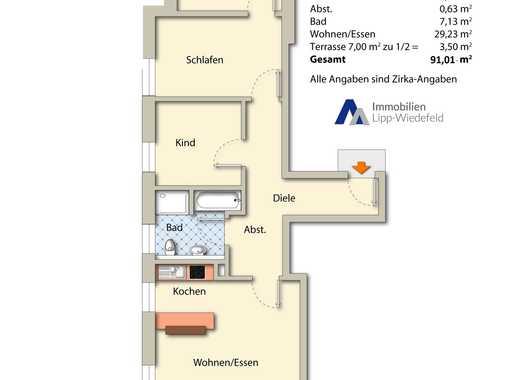 RESERVIERT: Barrierefreie Neubauwohnung in Viersen, 1. Obergeschoß links