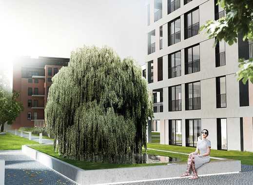 Freuen Sie sich auf eine exklusive Neubauwohnung mit viel Platz und sonnigem Balkon